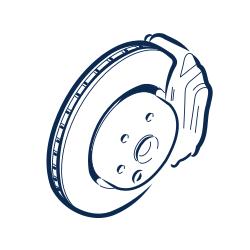 Front brake disc (4.2L)