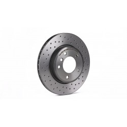 Rear brake disc (perforated)