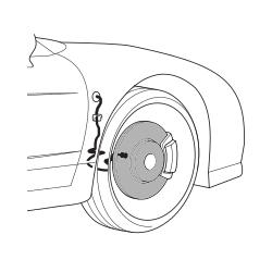 Brake discs 90-96 - FRONT