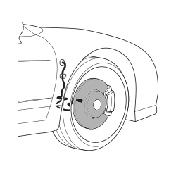 Brake discs 90-96 - REAR